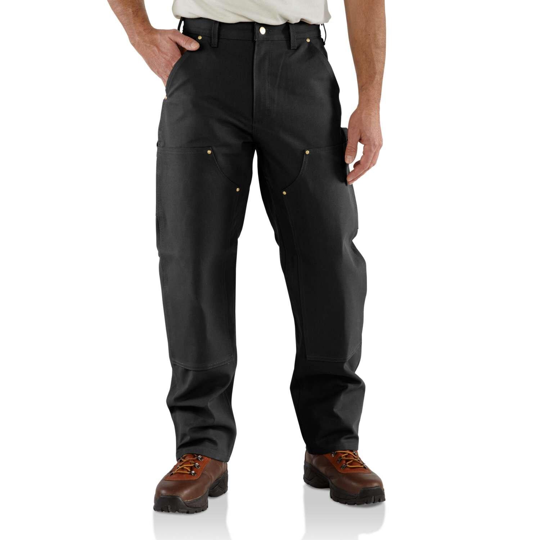 CARHARTT schwarz Hose EB136 doppelte Front Knie Double Front Pant wie B01 NEU