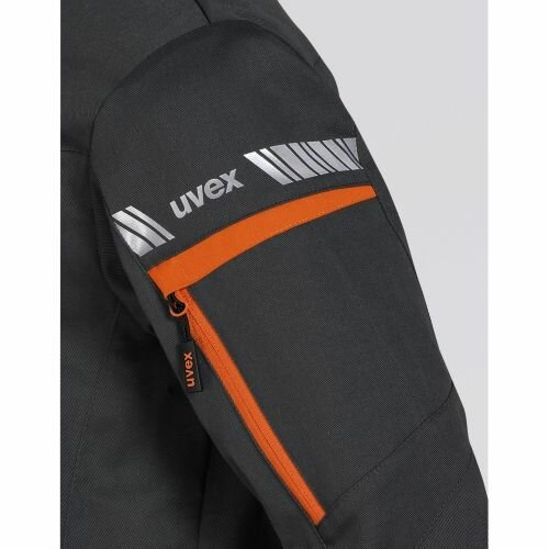 uvex Jacke metal  8939/anthrazit-orange