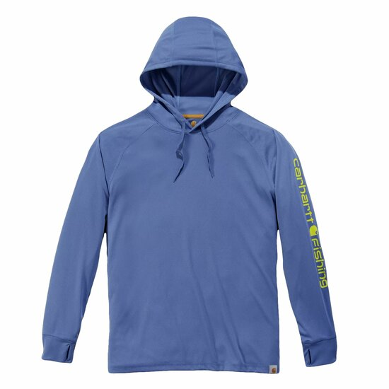Carhartt 103572 - Force Fishing Graphic Long Sleeve Hooded T-Shirt