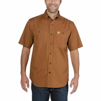 Carhartt 103555 Rugged Flex Rigby Short-Sleeve Work Shirt