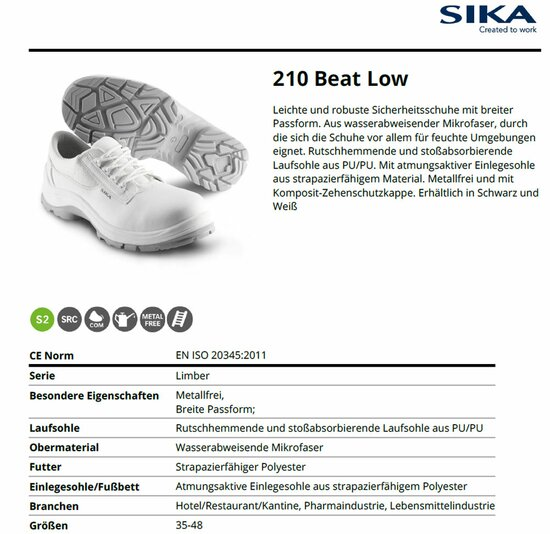 SIKA 210 Beat Low S2 SRC